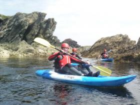 Sea Kayaking Stag Do with Anglesey Adventures