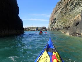 Hen Dos Sea Kayaking in Anglesey